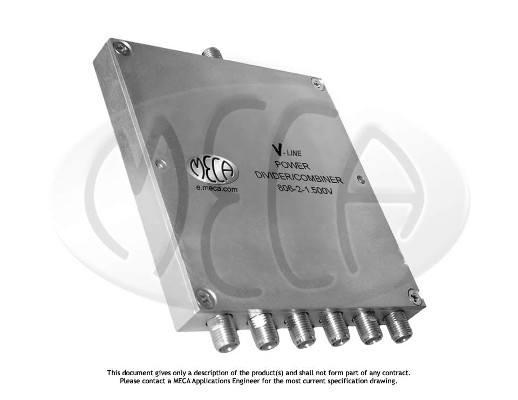 MECA RF Power Divider 0.8-2GHz SMA